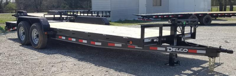 2021 Delco Trailers 22' EQUIPMENT HAULER W/ HD RAMPS