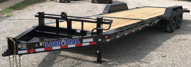 2021 Load Trail TD8324072 14K, 24' HEAVY DUTY Equipment Trailer