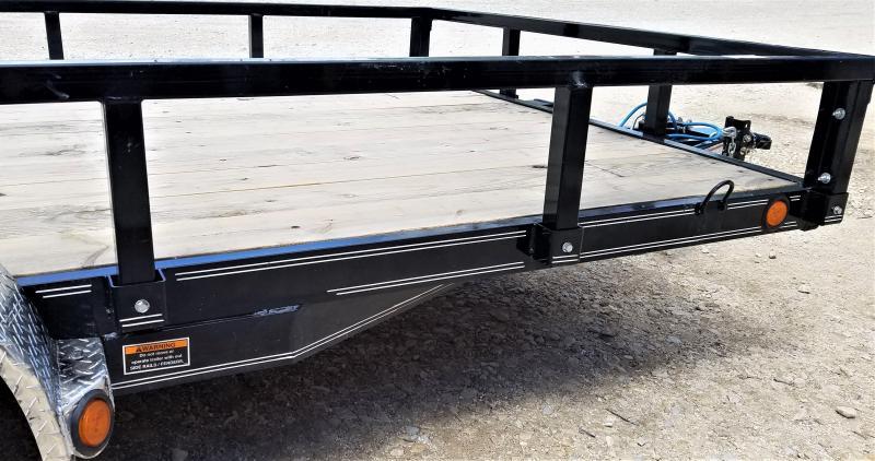 2022 Load Trail UT8316032 16' HEAVY DUTY Utility Trailer