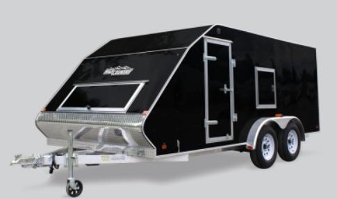 2021 Mission 101X12MFS Snowmobile Trailer CROSSOVER
