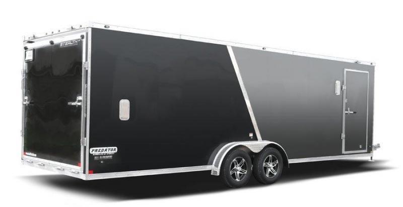 2021 Stealth Trailers PREDATOR 7x29 Snowmobile Trailer 7x29