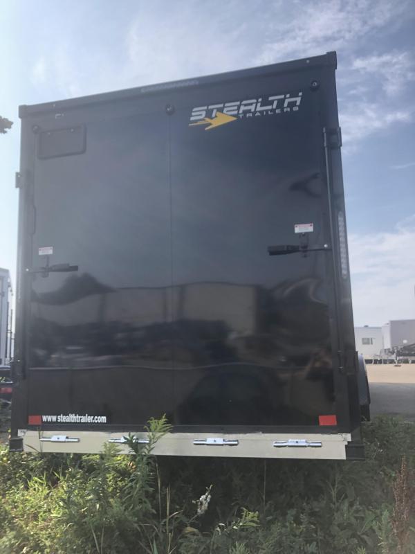 2022 Stealth Trailers APACHE Snowmobile Trailer 7X29 ALUMINUM SNOWMOBILE TRAILER - 7' HEIGHT - HELMET CABINET