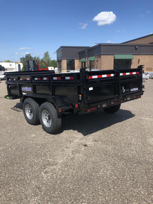 """2022 Load Trail DT8314 Dump Trailer 83"""" x 14' Tandem Axle Dump 14K - Primer & Paint"""