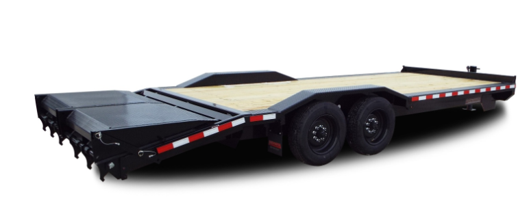 2021 Midsota STWB-24 Equipment Trailer