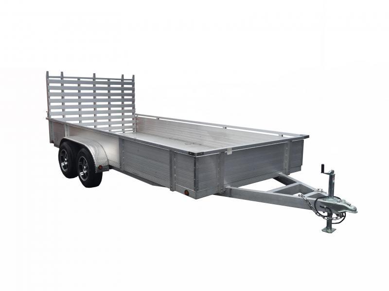 2022 Primo HUT82x16-TA-HSS Utility Trailer