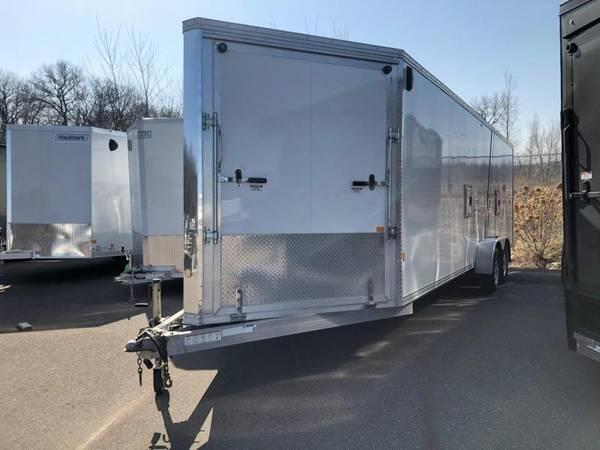 2015 Stealth Trailers cargo express 7x29 Snowmobile Trailer 7x29