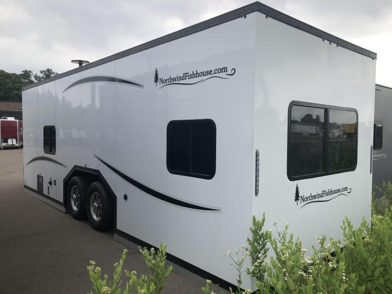 2021 Northwind Fish House 24' RV BUNK HOUSE Ice House