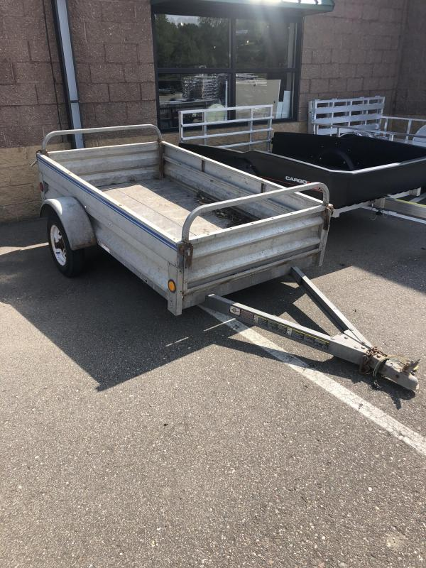 2021 Carry-On 4X7L-BOX Other GALVANIZED UTILITY TRAILER