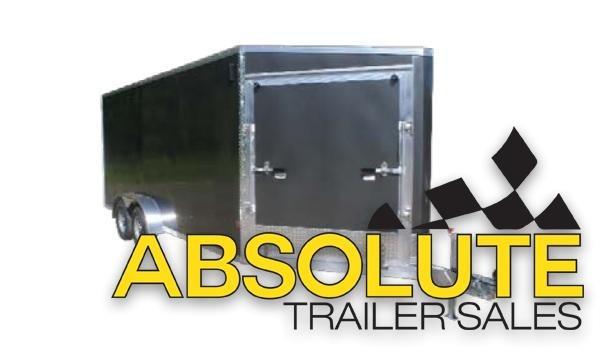 2020 E-Z Hauler EZES Snowmobile Trailer 7X23 DL