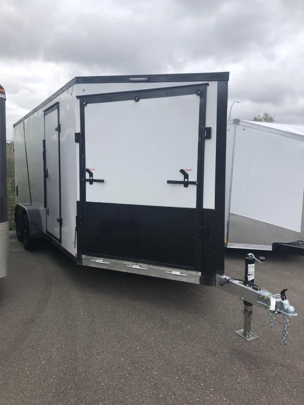 2022 Stealth Trailers 7x23 predator Snowmobile Trailer