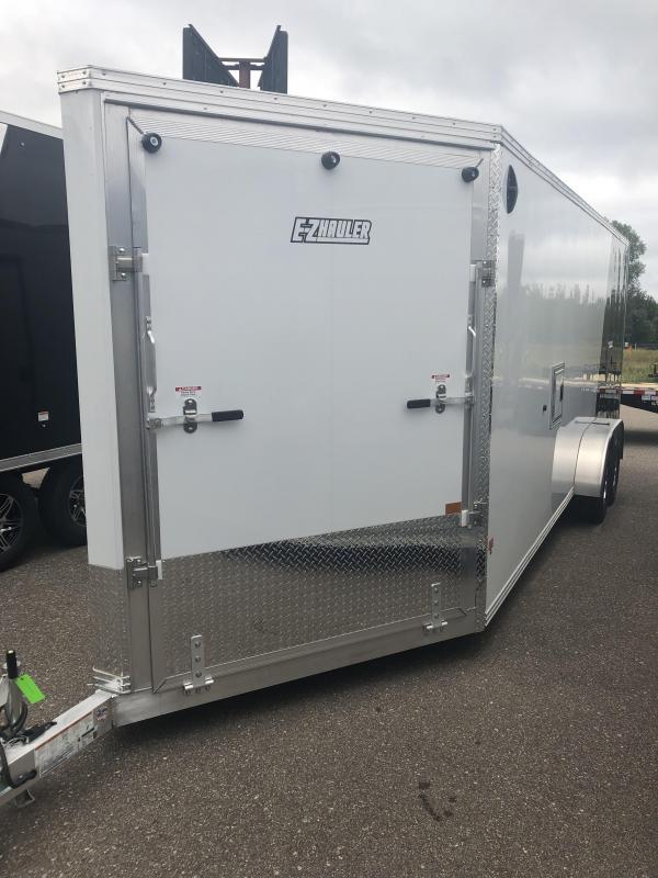 2022 EZ Hauler EZES 7X22+5 Snowmobile Trailer