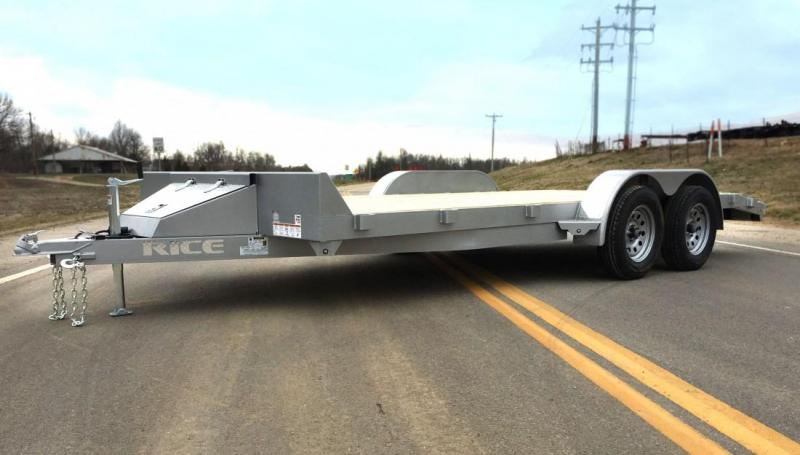 2021 Rice Trailers 7k Magnum Car Haulers Car / Racing Trailer 16+2