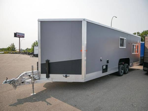 2021 Yetti GRAND ESCAPE EDITION Ice/Fish House Trailer GE824-DRKF