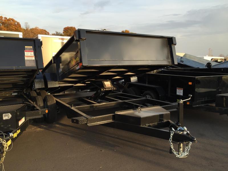 2022 Midsota DT8214-15.4K DUMP Dump Trailer