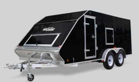 2021 Mission 101X12MFS Snowmobile Trailer CROSSOVER