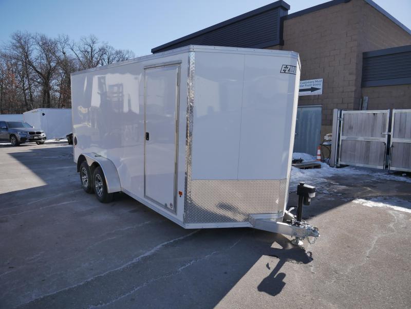 2021 E-Z Hauler EZEC 7X16 Cargo / Enclosed Trailer