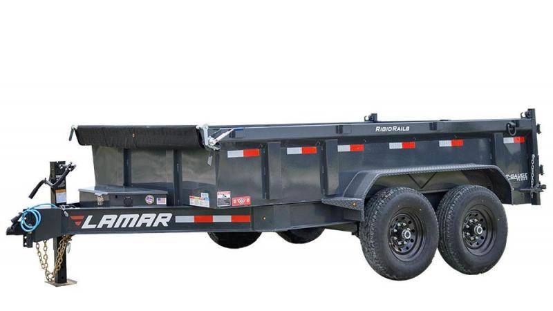 "2021 Lamar 83"" X 16' Low-pro Dump 14k"