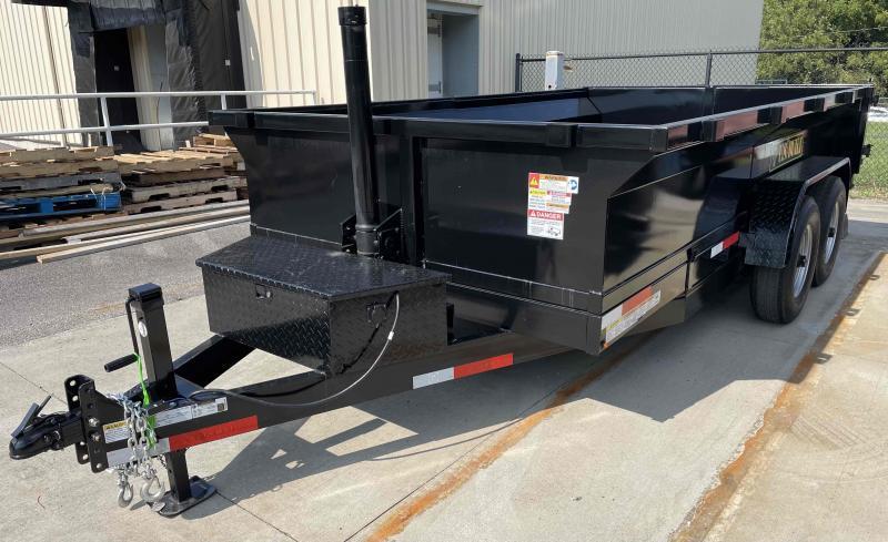 2022 U.S. Built 7x14x2 14k Bumper Pull Dump Trailer