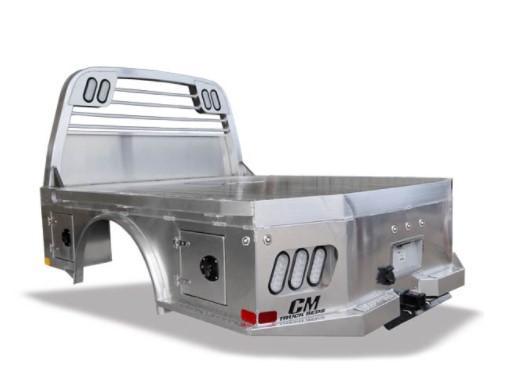 """2021 CM Truck Beds AL SK Aluminum Skirted Body - 9'4"""""""