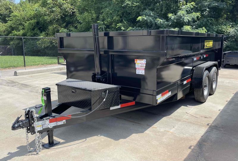 2022 U.S. Built 7x14x3 14k Bumper Pull Dump Trailer