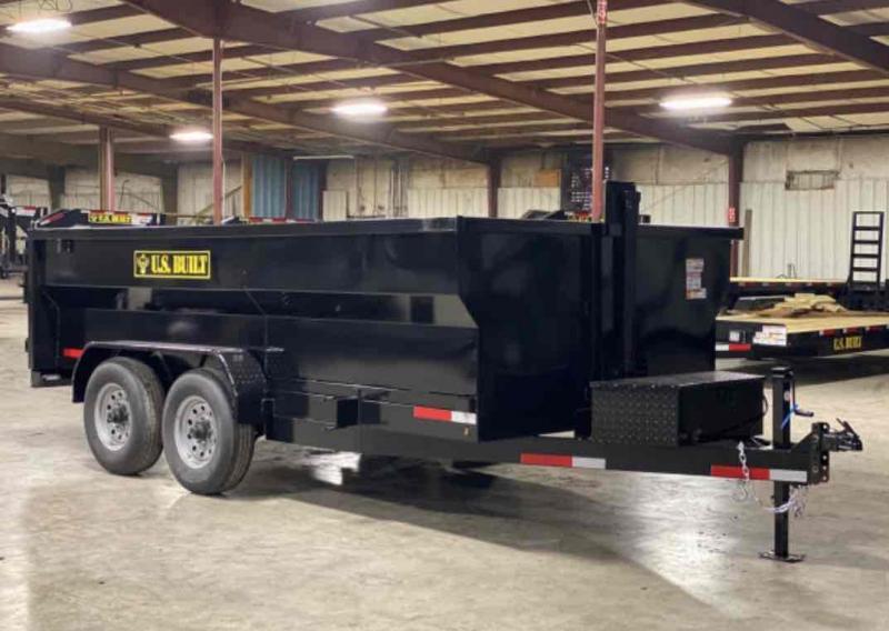 2021 U.S. Built 7x14x3 14k Bumper Pull Dump Trailer