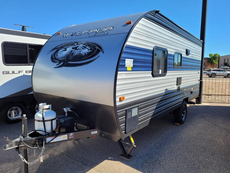 2022 Forest River Grey Wolf Wolf Pup 16FQ Travel Trailer RV