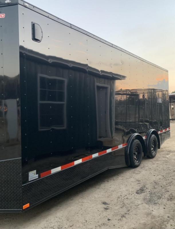 2022 Seed Cargo 8.5x24 Tandem Axle Enclosed Cargo Trailer