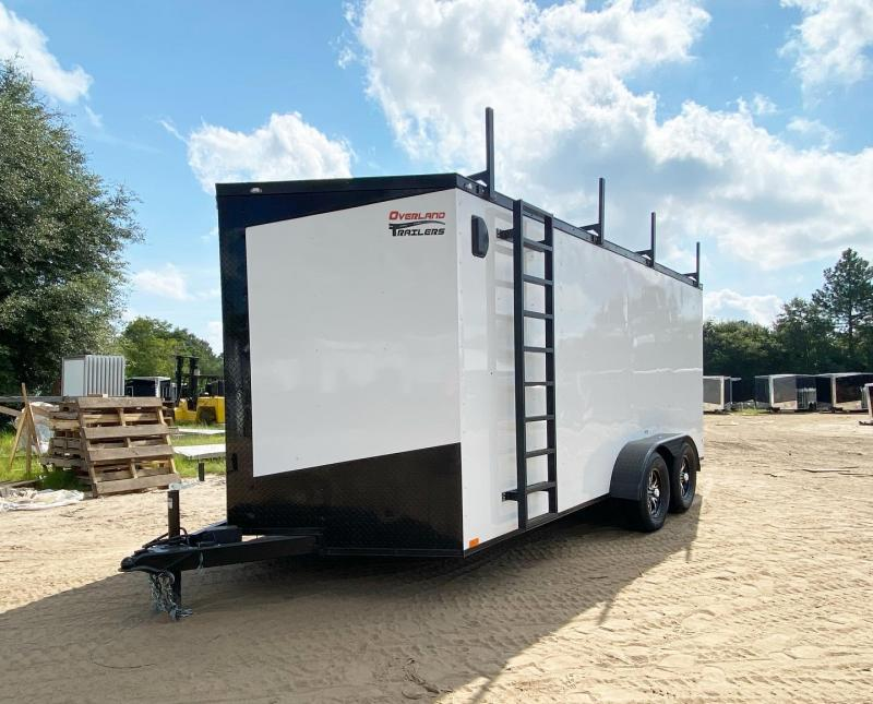 2022 Seed Cargo Custom 7x16TA Enclosed Cargo Trailer