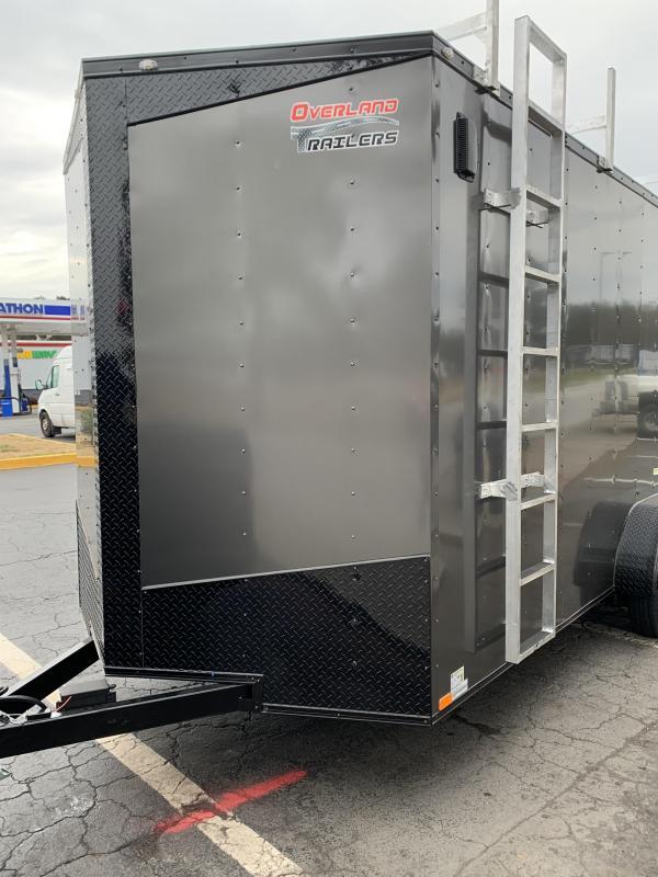 2022 Seed Cargo 2022 7x16 Tandem Axle Enclosed Cargo Trailer
