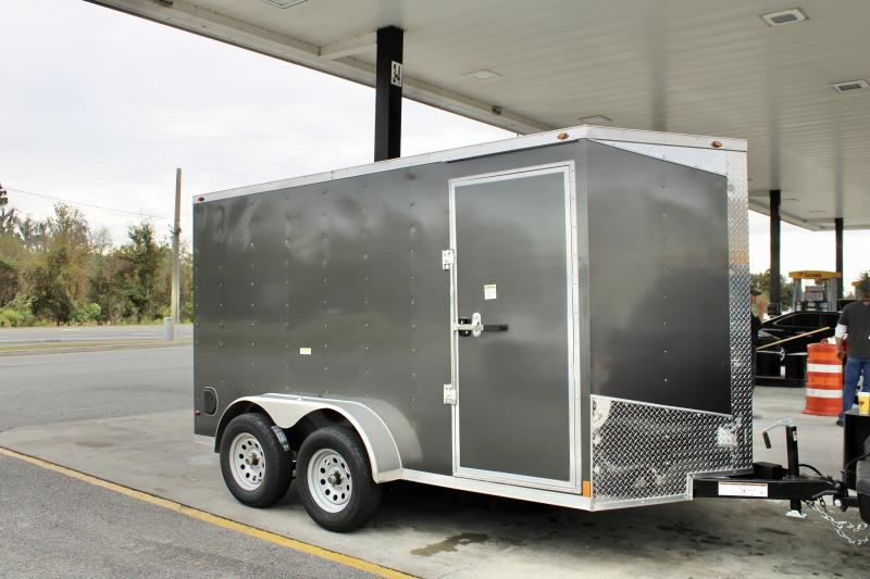 2022 Overland Trailers 6x12 TANDEM AXLE Enclosed Cargo Trailer