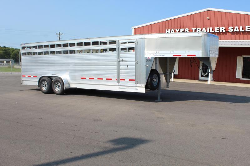 2022 EBY 24' Maverick Stock Trailer Livestock Trailer