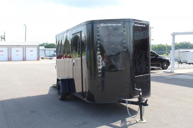 2021 Arising 6' X 12' Enclosed Cargo Trailer