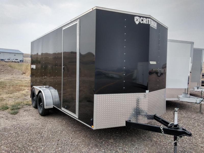 2021 Criterion Cargo Trailer 7 x 16 Ramp