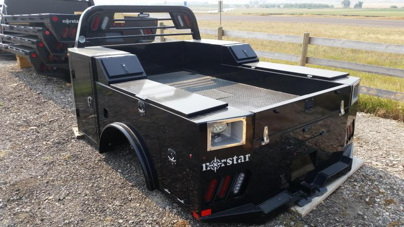 2021 Norstar Single Wheel SD Truck Bed