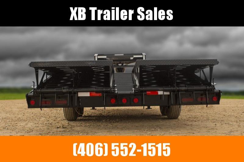 2022 Iron Bull Deckover Trailer 102 x 24 Ramps 14K