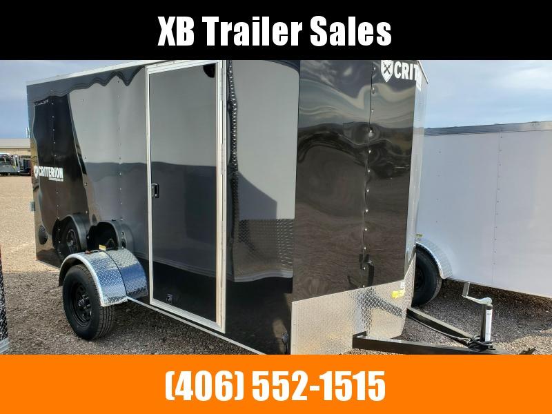 2022 Criterion Cargo Trailer 6 x 12 Ramp