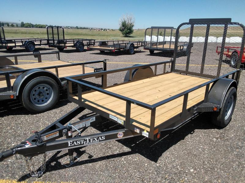 2021 East Texas 5 x 10 Utility Trailer