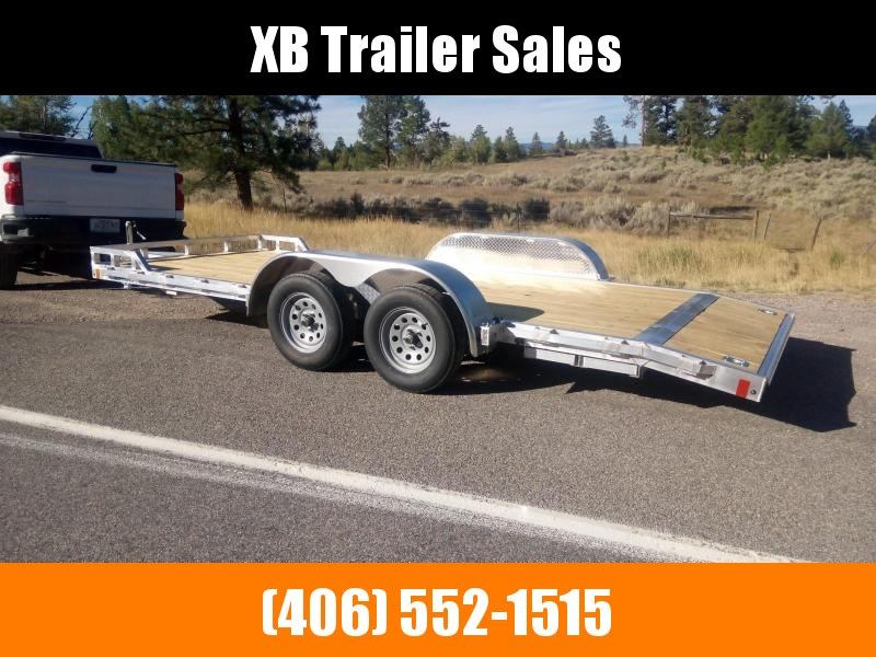 2022 Cargo Pro Aluminum Car Trailer, 80 x 18, 7K
