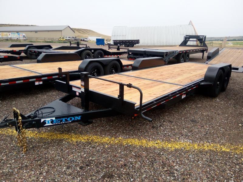 2021 Teton Tilt Deck Trailer, 83 x 22, 14K