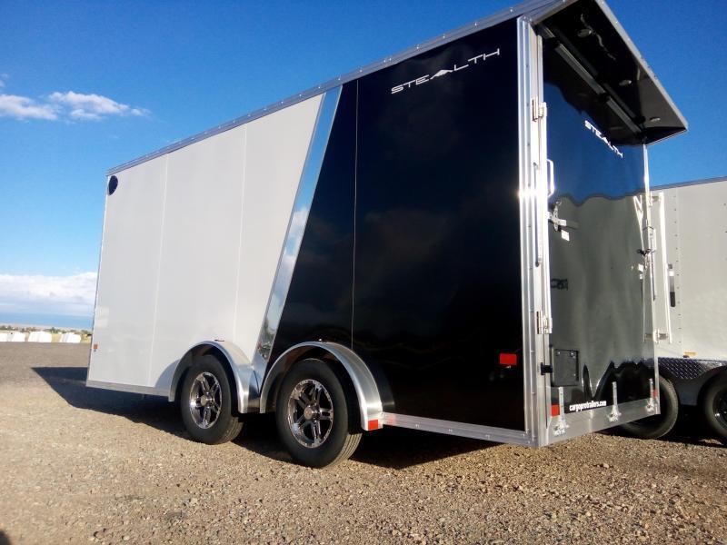 2022 Stealth Aluminum Cargo Trailer 7.5 x 16 UTV