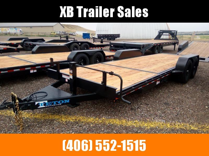 2021 Teton Tilt Deck Trailer, 83 x 20, 14K