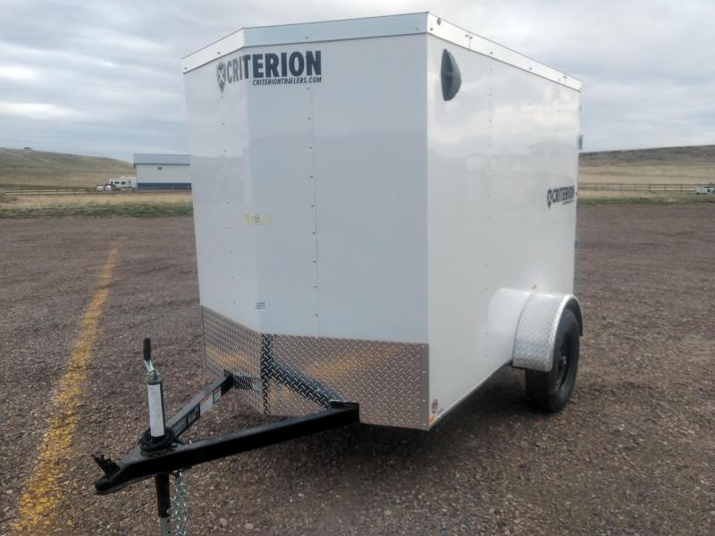 2021 Criterion 5 x 8 Enclosed Cargo Trailer