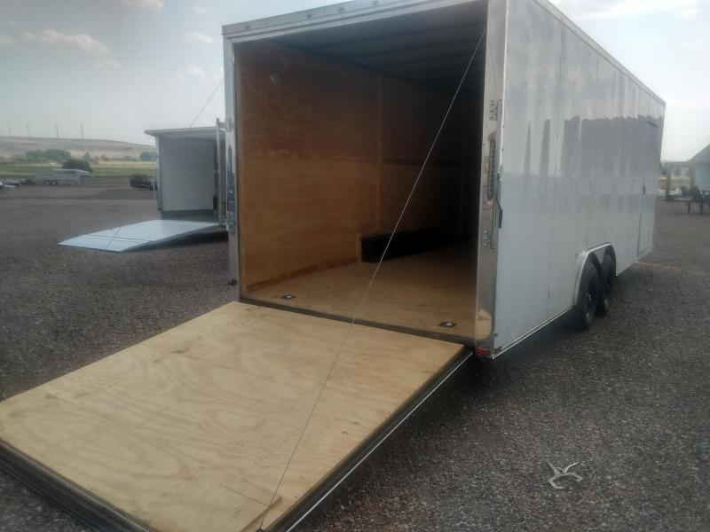 2021 Quality Cargo Trailer 8 x 24 Ramp Door