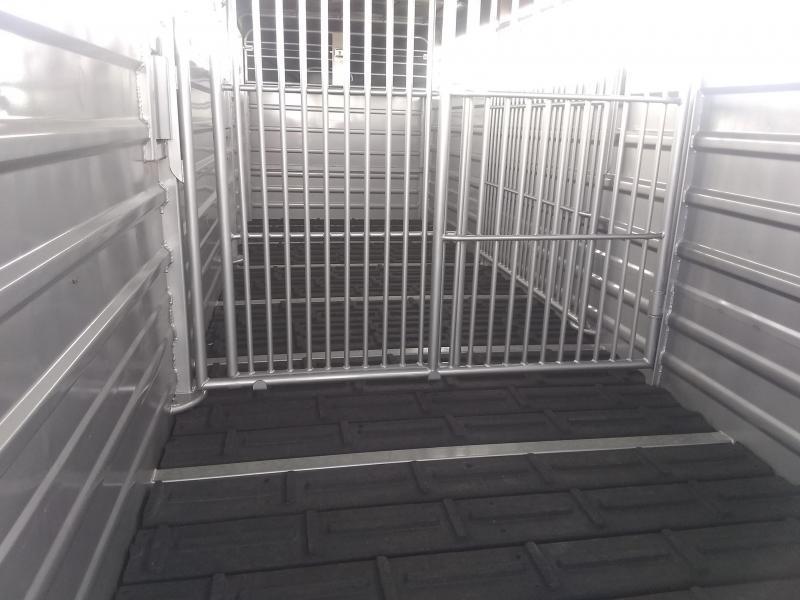 2021 GR Gooseneck Stock Trailer 24 Rubber Floor