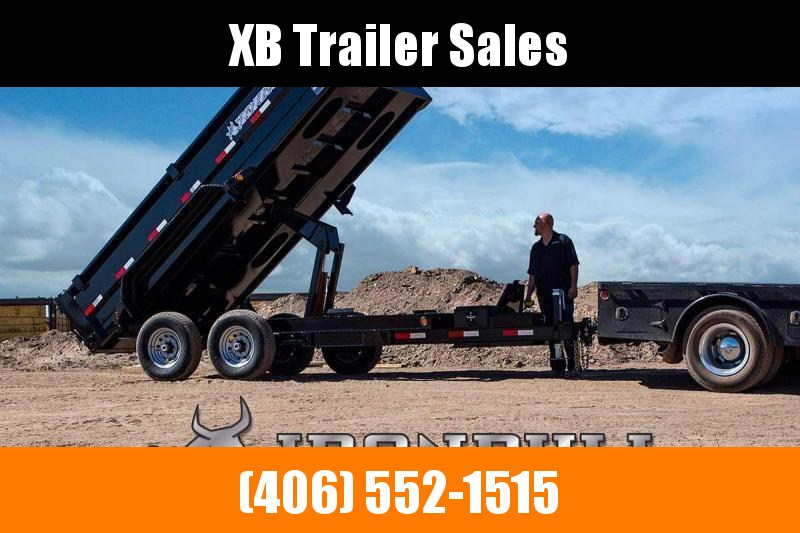 2022 Iron Bull Dump Trailer 14K