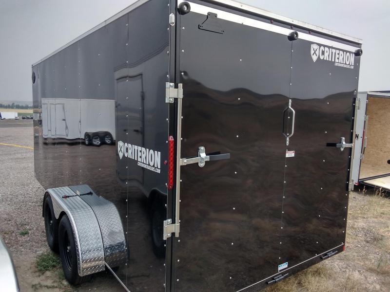 2021 Criterion Cargo Trailer 8 x 16 Ramp