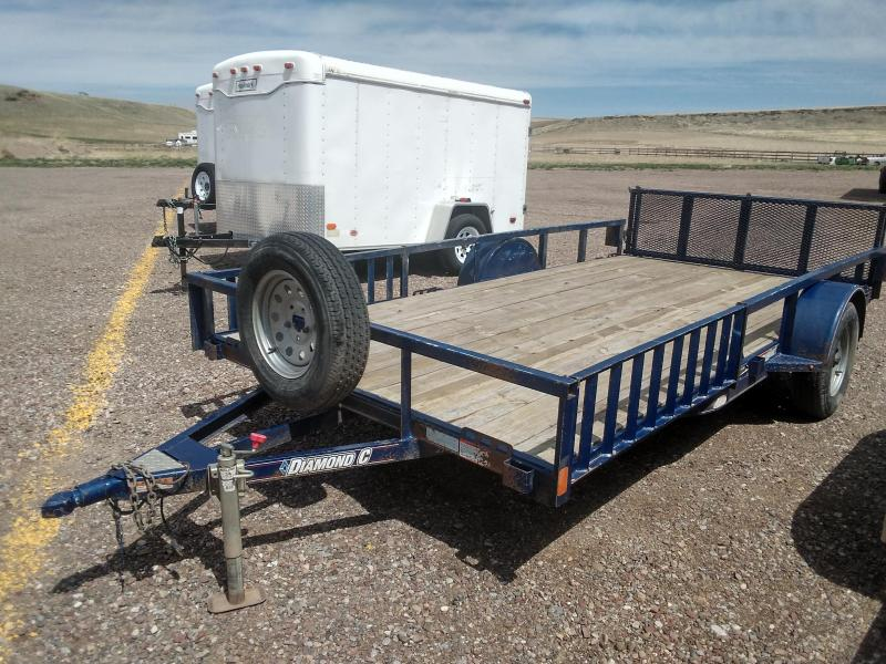 2014 Diamond C Utility Trailer 14'