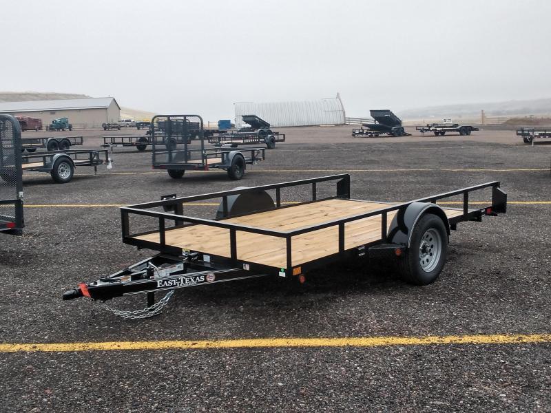 2021 East Texas 83 x 12' Tilt Utility Trailer