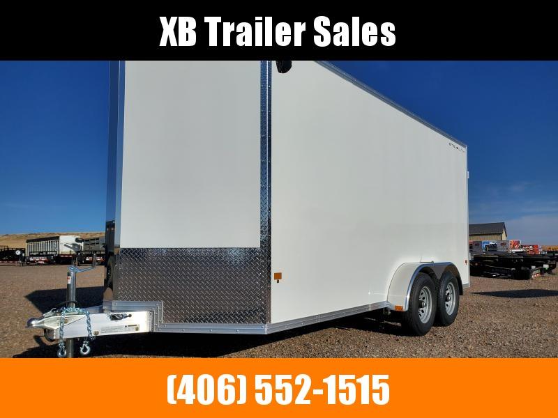 2022 Stealth Aluminum Cargo 7 x 16 Barn Door 10K