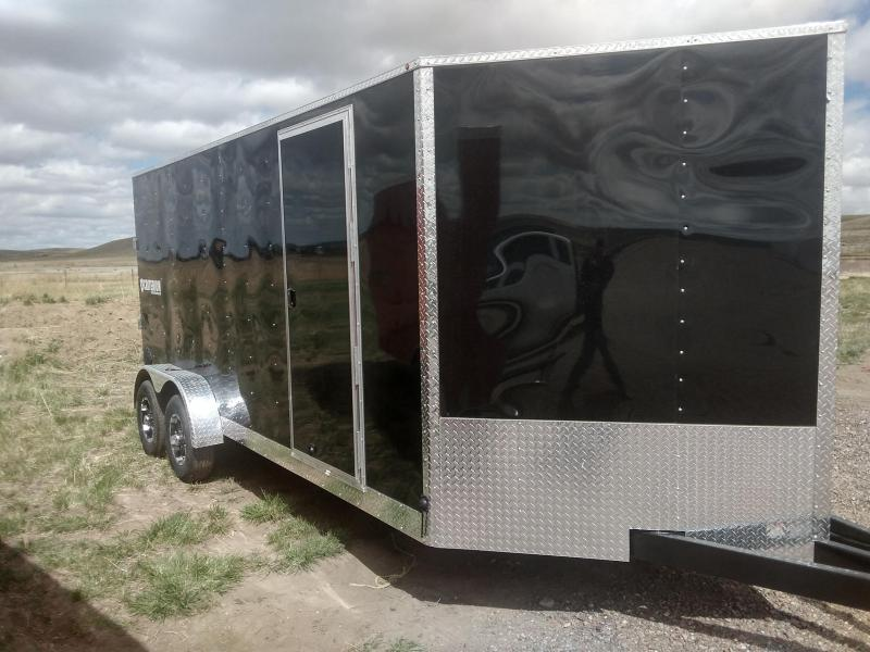2021 Criterion 7 x 16 Enclosed Cargo Trailer
